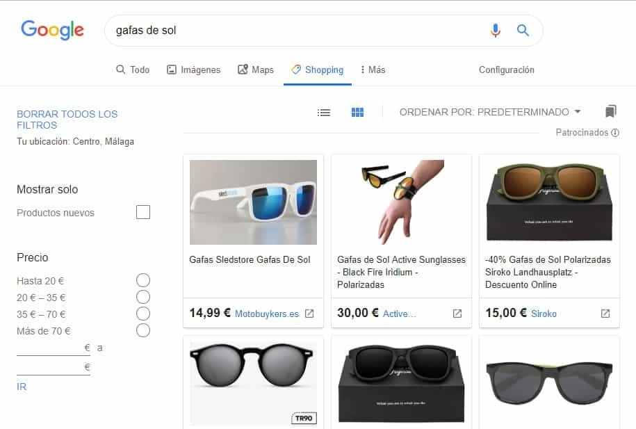 agencia google shopping ads