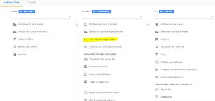 cómo crear cuenta de google analytics