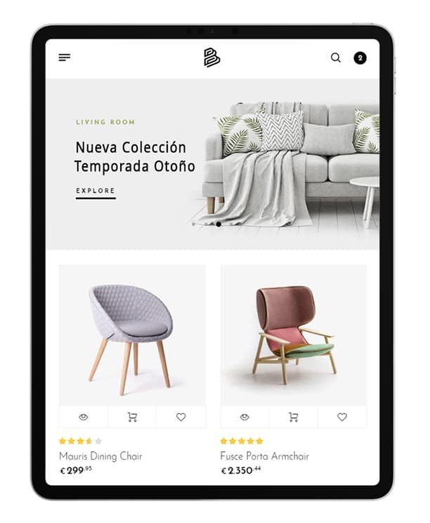 empresa de desarrollo de tiendas online a medida