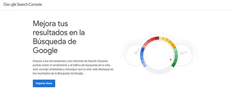 darse de alta gooogle search console
