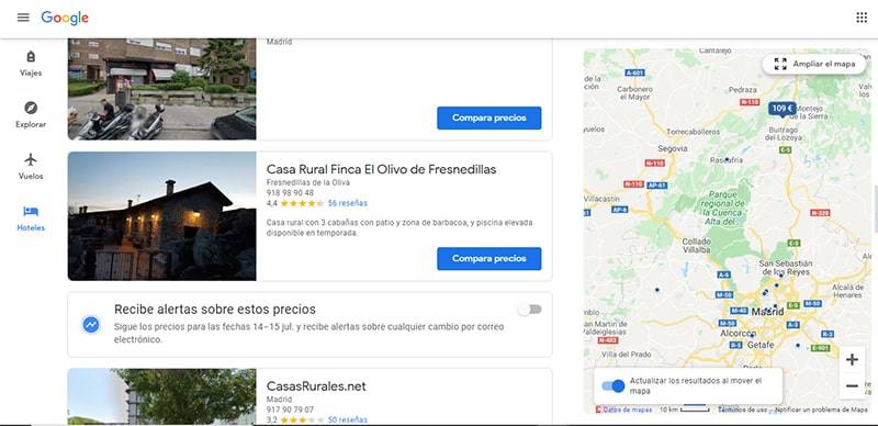 seo local para alojamientos rurales